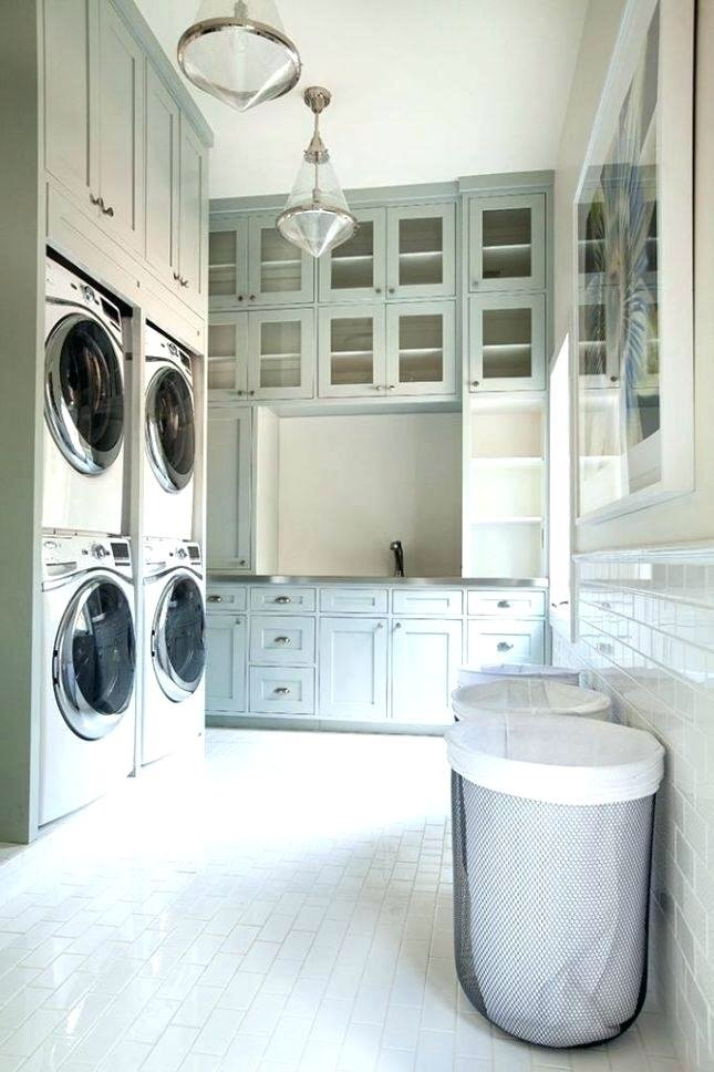 Sherwin Williams Sea Salt Blue Laundry Room 2